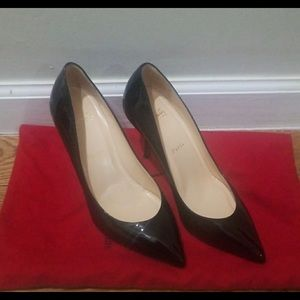 Christian louboutin Pigalle patent